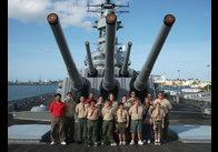 On the USS Missouri