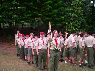Scouts at Maluhia